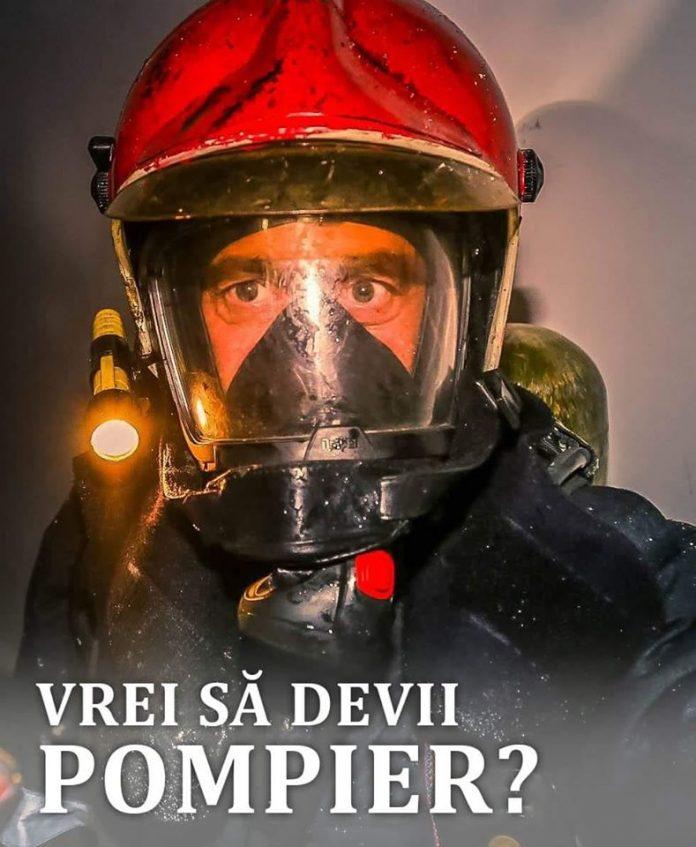 Vrei să devii pompier? Mai sunt doar patru zile pentru înscrieri!